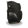 Large Textile Roll Away Luggage Sissy Bar Bag (15X21X11) - HighwayLeather