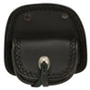 Small Braided Handle Bar Snap Storage Pocket (7X4X1.5) - HighwayLeather