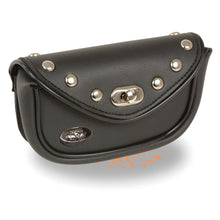 Small Studded PVC Windshield Bag (7X3X2.5) - HighwayLeather