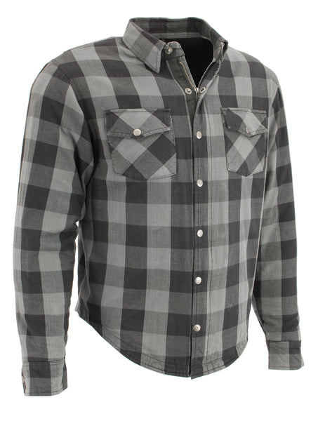 Armored Flannel Jacket-Shirt