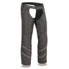 Men's Vented Textile Chap w/ Snap-Out Thermal Liner - HighwayLeather