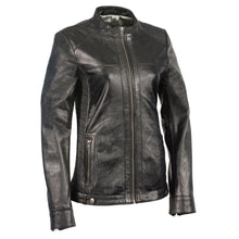 Woman's Zip Front Scuba w/ Side Stretch Fitting - HighwayLeather