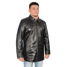Men's classic JD 32 inch zipper front jacket - HighwayLeather