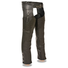 Men's Chap w/ Zippered Thigh Pockets - highwayleather