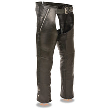 Men's Hip Set Four Pocket Lined Chap - highwayleather