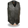 Men's Classic Snap Front Biker Vest -Tall - HighwayLeather