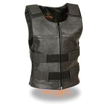Ladies Zipper Front Replica Bullet Proof Vest - HighwayLeather