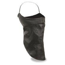 Unisex Premium Leather Face Mask w/ Fleece Liner - HighwayLeather
