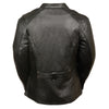 Ladies 3/4 Length Fashion Forward Jacket - HighwayLeather