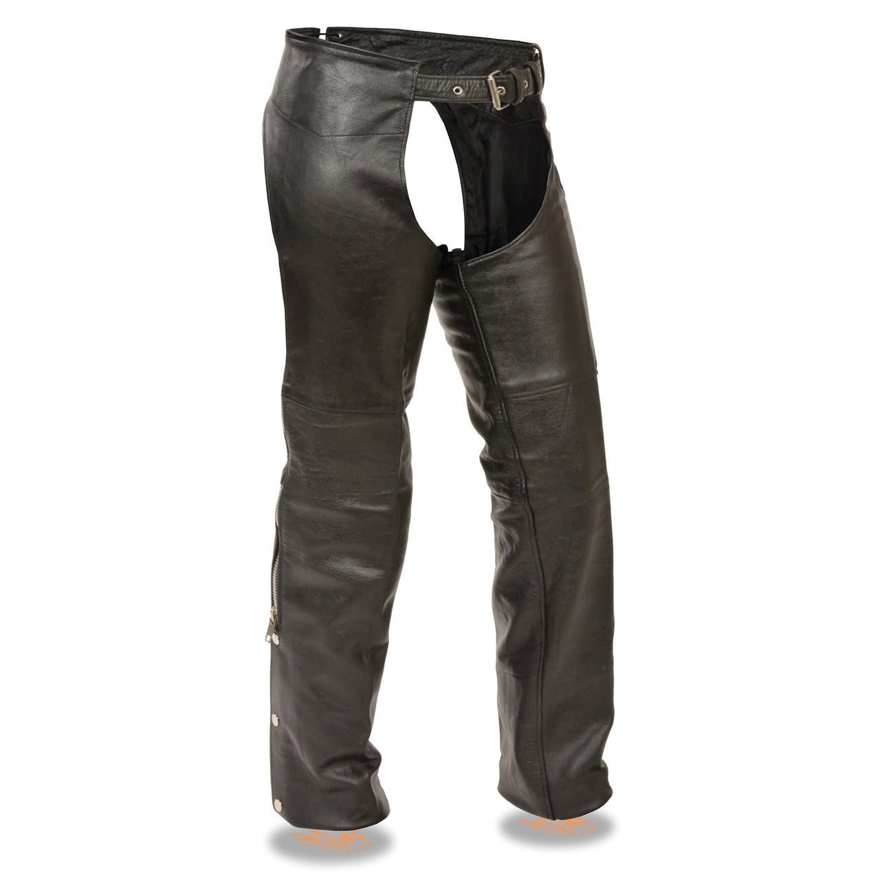 Kid's Classic Motorcycle Chaps - HighwayLeather
