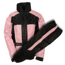 Ladies Rain Suit Water Proof w/ Reflective Piping - HighwayLeather