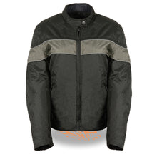Ladies Lightweight Black Textile Jacket w/ Stretch & Reflective Piping - HighwayLeather