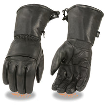 Men's Waterproof Gauntlet Gloves w/ Flex Knuckles - HighwayLeather