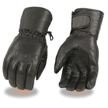 Men's Waterproof Gauntlet Gloves w/ Cinch Wrist - HighwayLeather