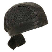 Unisex Perforated Skull Cap - HighwayLeather