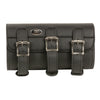 Large Triple Buckle  PVC Tool Bag w/ Quick Release(10X4.5X3.25) - HighwayLeather