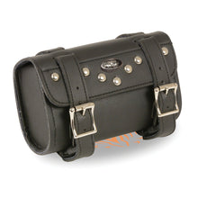 Small Two Buckle Studded PVC Tool Bag w/ Quick Release (8X4X3)