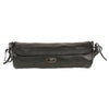 Extra Long Soft Leather Velcro Closure Tool Pouch (12X4X4) - HighwayLeather