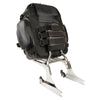 Medium Leather & Textile Cruiser Sissy Bar Back Pack (12X16X6) - HighwayLeather