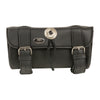 Double Strap PVC Tool Bag w/ Quick Release (10X4.5X3.25) - HighwayLeather