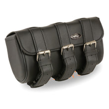 Triple Strap PVC Tool Bag w/ Quick Release (10X4.5X3.25) - HighwayLeather