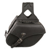 Medium Zip-Off Single Strap PVC Throw Over Saddle Bag (12X9X6X17.5) - HighwayLeather