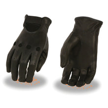 Ladies Unlined Classic Leather Driving Gloves - HighwayLeather