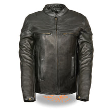Ladies Sporty Scooter Crossover Leather Jacket - HighwayLeather