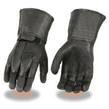 Men's Deerskin Unlined Gauntlet Gloves - HighwayLeather