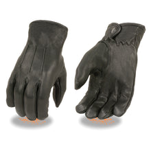 Men's Thermal Lined Deerskin Gloves w/ Snap Wrist - HighwayLeather
