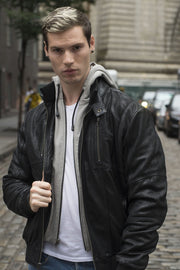WILLIAM - MEN'S LEATHER JACKET - HighwayLeather