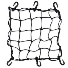 "Heavy-Duty 15"" Cargo Net for Motorcycles, ATVs - Stretches to 30"" - highwayleather"
