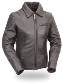 Ladies Clean Cruiser Jacket  - HighwayLeather