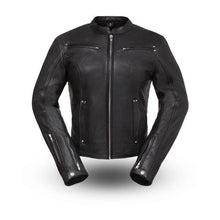 Women's Black Speed Queen Leather Jacket - HighwayLeather
