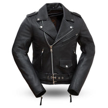 Women's Rock Star Classic Motorcycle Jacket - highwayleather