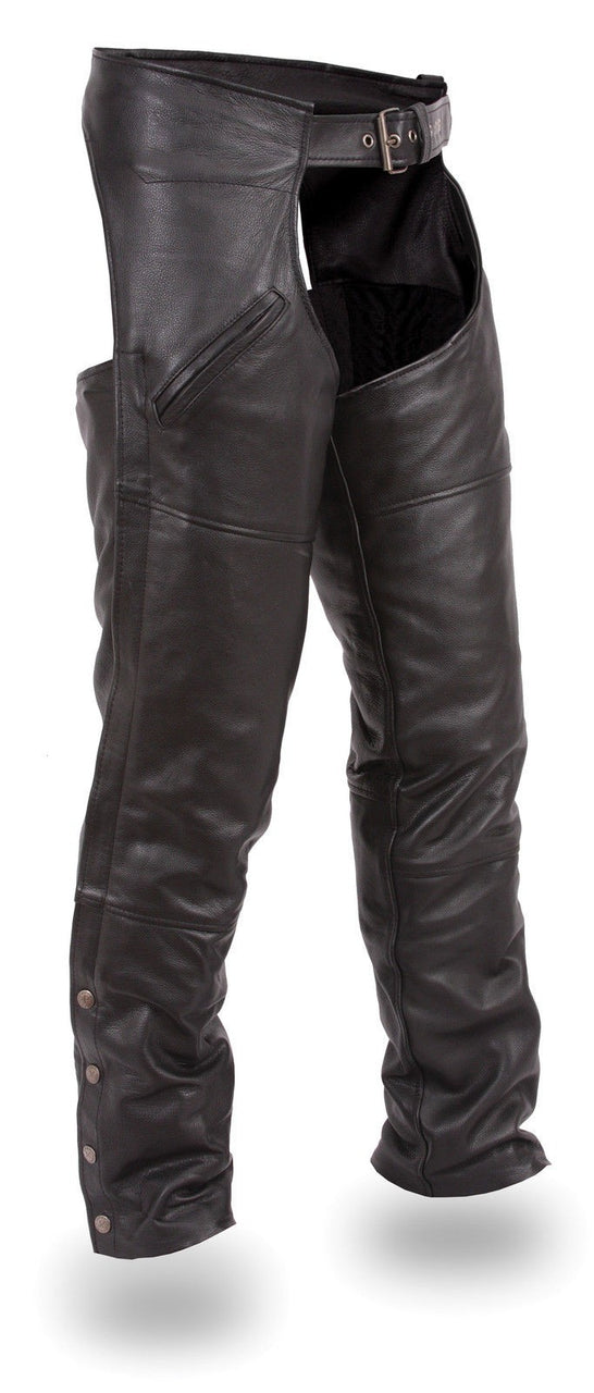 Men's Slash Pocket Chap w/ Mesh Liner - HighwayLeather