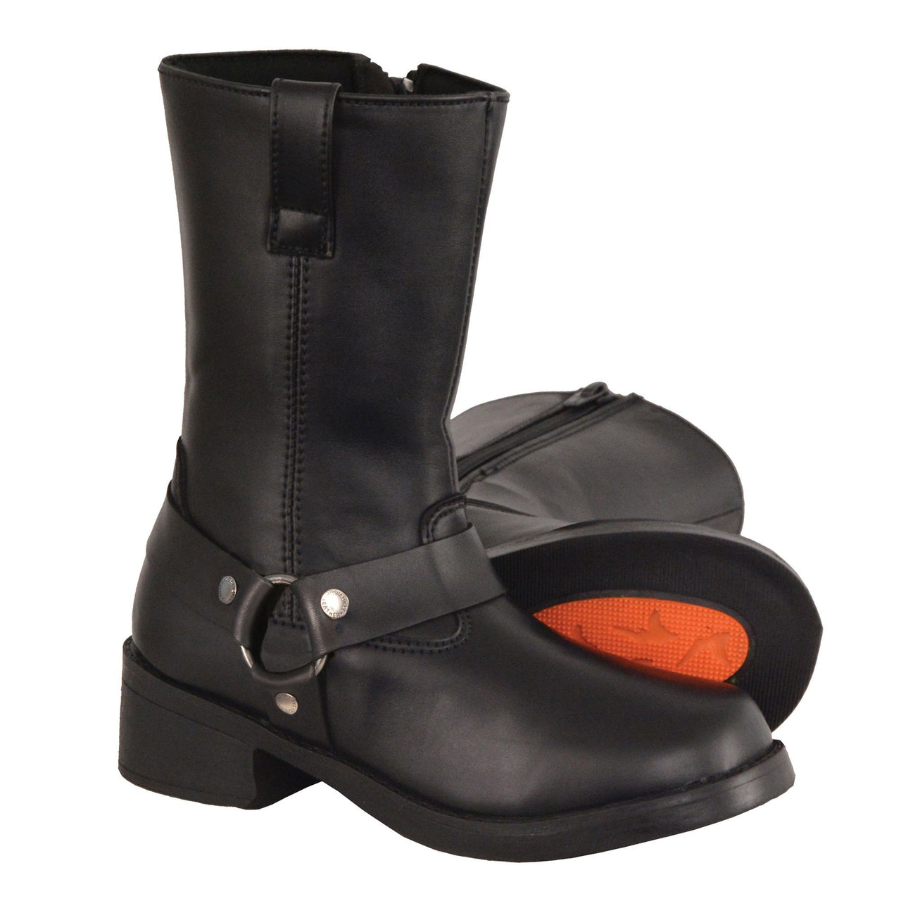 Kids Classic Harness Biker Boot - HighwayLeather