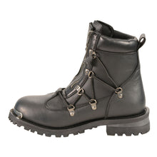 Women's Twin Zipper Front Entry Cap Toe Boot - HighwayLeather