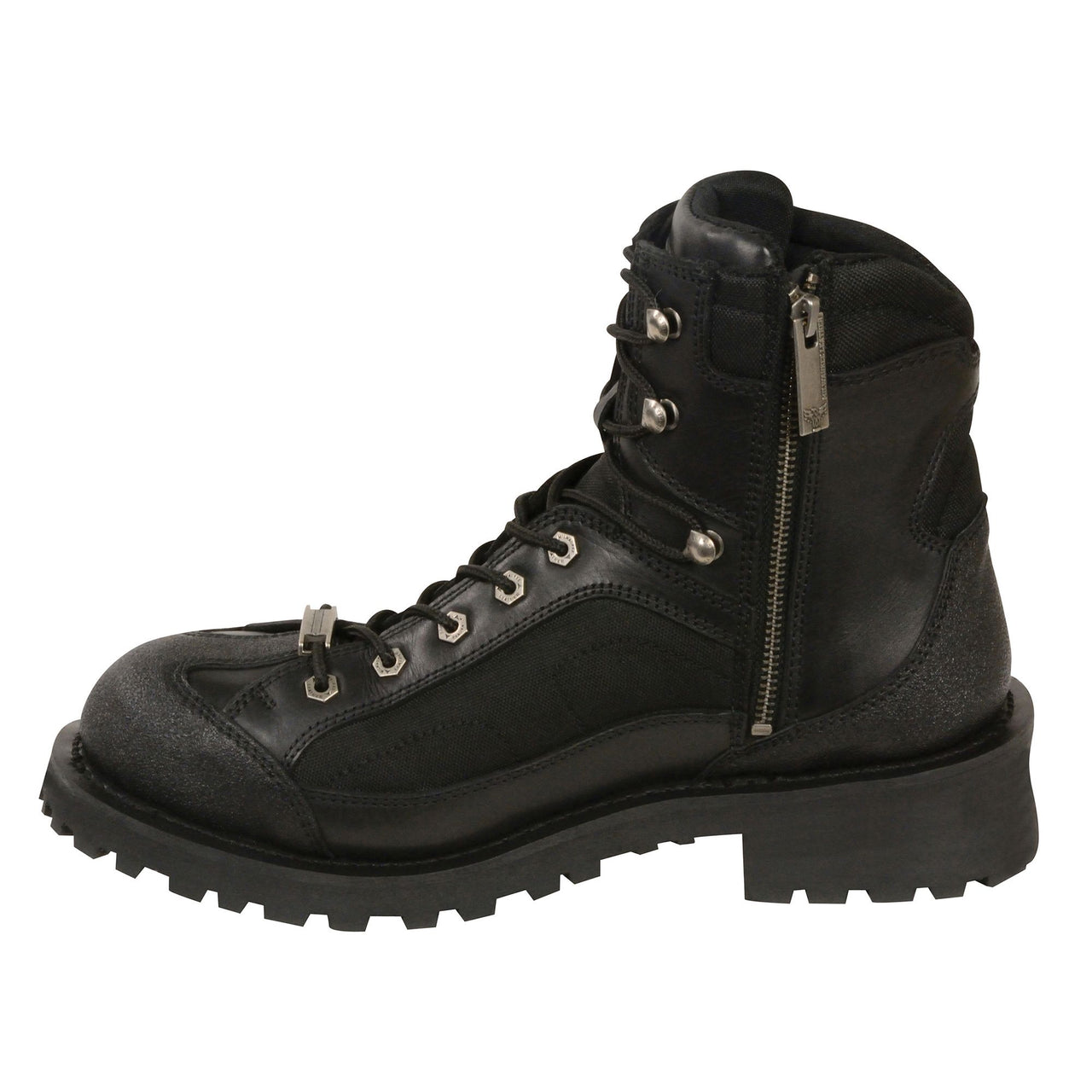 "Men's 6"" Lace to Toe Boot w/ Gear Shift Protection - HighwayLeather"