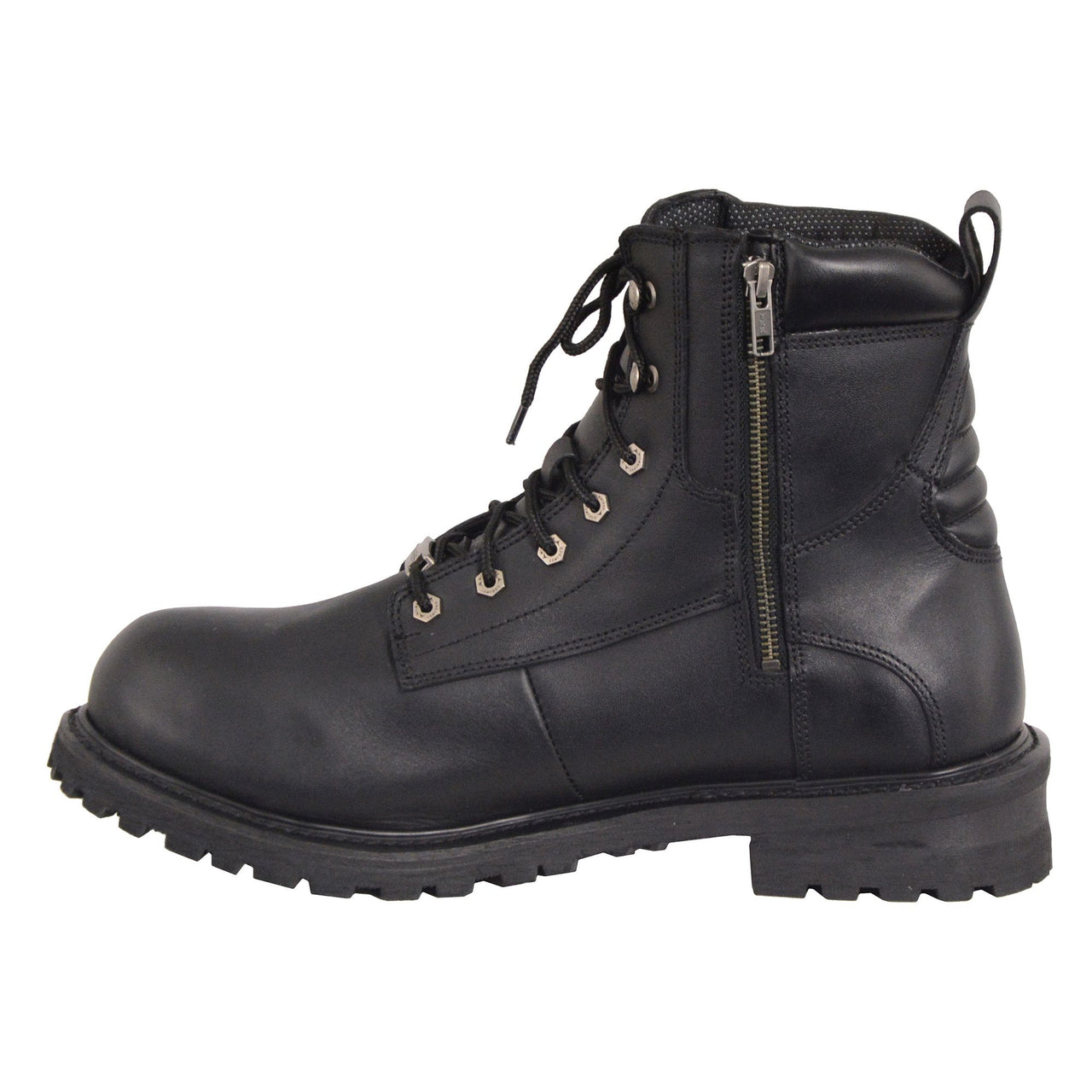 Men's 6 Inch Waterproof Lace to Toe Boot w/ Steel Toe - HighwayLeather