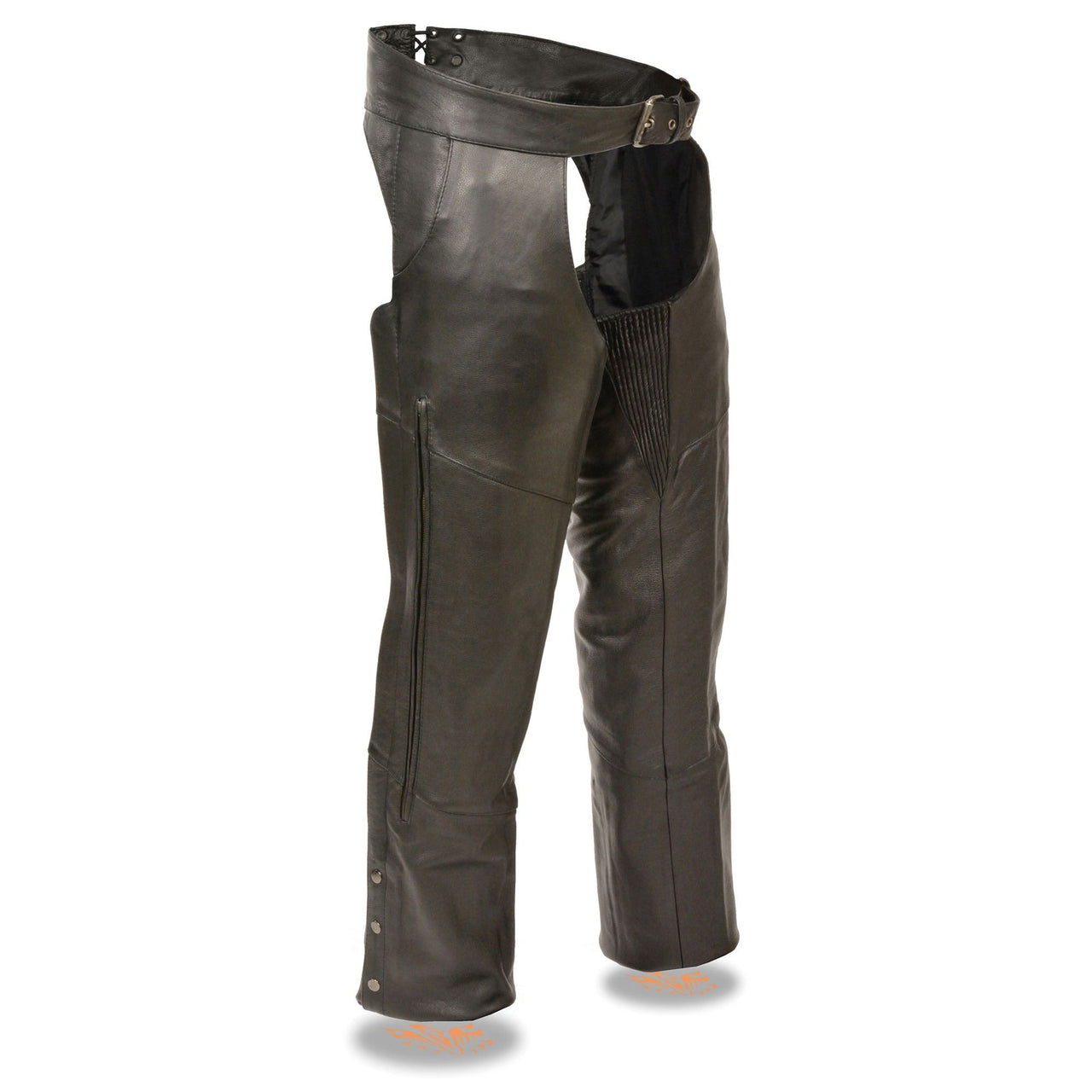 Men's Vented Chap w/ Stretch Thighs - HighwayLeather