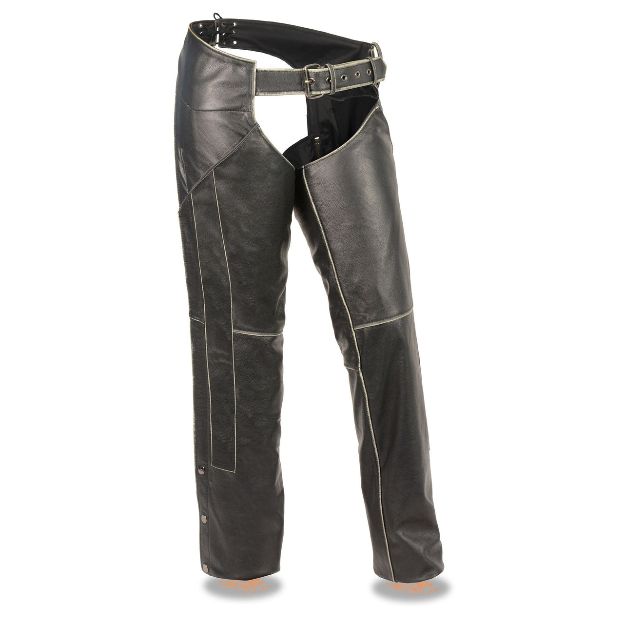 Women's Rub-off Low Rise Chap - HighwayLeather