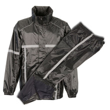 Men's Waterproof Rain Suit w/ Hi Vis Reflective Tape - HighwayLeather