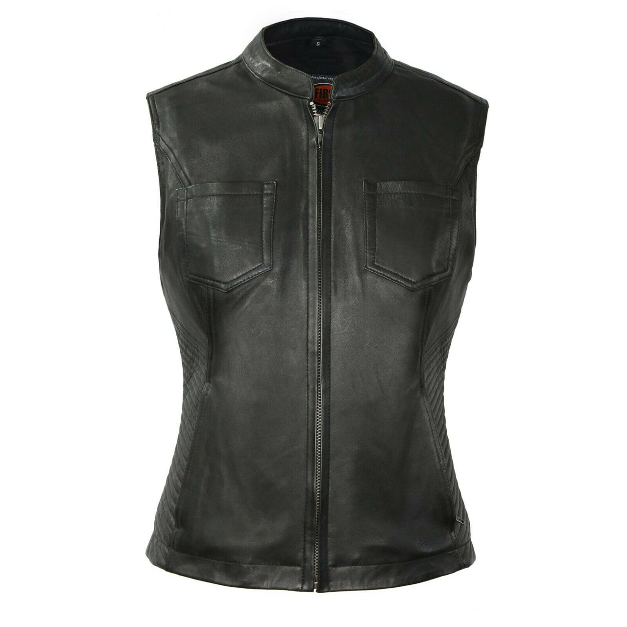 Envy - Women's Motorcycle Leather Vest - HighwayLeather