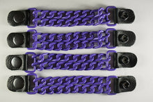 Motorcycle Leather Chain Vest Extender Biker Snap on - Extend your Vest (PURPLE) - HighwayLeather