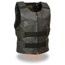 Men's Zipper Front Replica Bullet Proof Vest - highwayleather