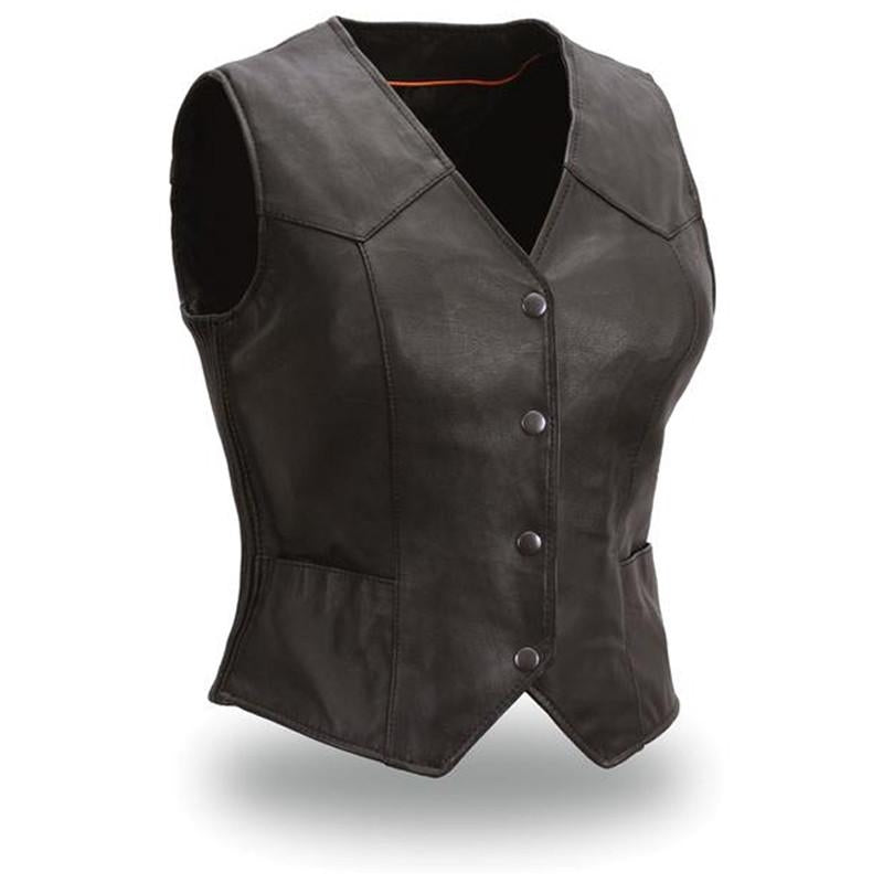 The Heiress Women's Light Weight Vest - HighwayLeather