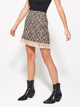 KAI Fringe Mini Skirt