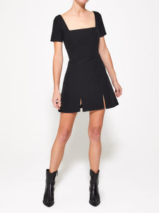 VALENTINE Black Mini Dress