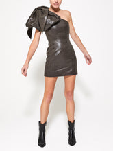 ANJA Asymmetrical Mini Dress